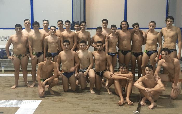 cadetes-juveniles. Jornada de entreno waterpolo en madrid